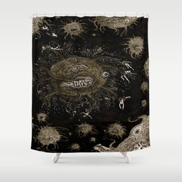 Flying Horrors Shower Curtain