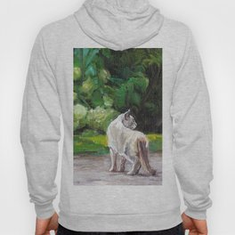 What the Cat Sees By the Hot Glass Studio Hydrangea Hoody