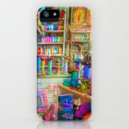 Kitty Heaven iPhone Case