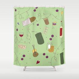 Huele a Navidad Shower Curtain