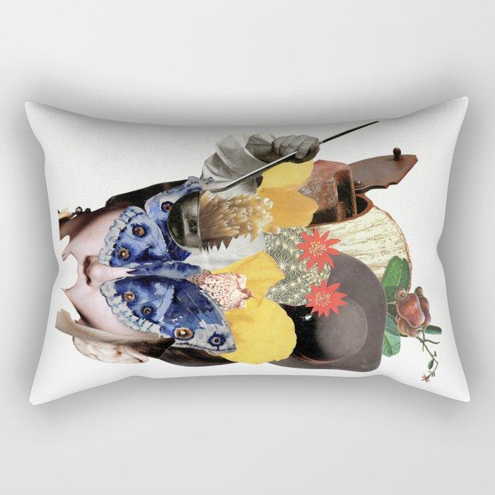 Miss Buterfly Rectangular Pillow