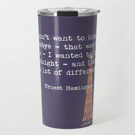 Hemingway Travel Mug