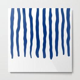 Blue swabs Metal Print