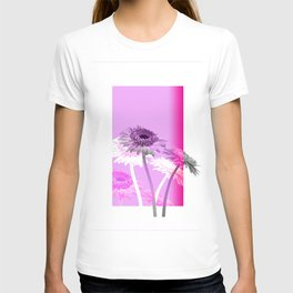 flowers are flowers and pink is the warmest color T-shirt