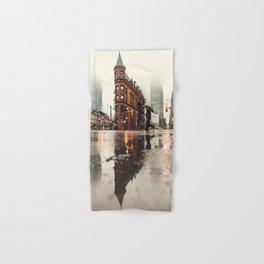 RAIN - WET - MAN - LIGHT - STREET - PHOTOGRAPHY Hand & Bath Towel