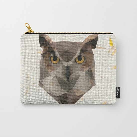 OWL triangle Carry-All Pouch
