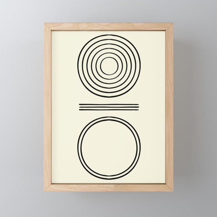 Life Balace II Framed Mini Art Print