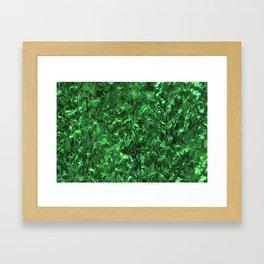 Abalone Shell | Paua Shell | Green Tint Framed Art Print