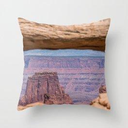 Canyonlands Throw Pillow