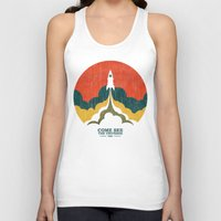 universe Tank Tops featuring Come See The Universe by Picomodi