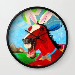 A Horserabbit for Archer Wall Clock