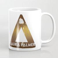laura palmer Mugs featuring Bastille #1 Laura Palmer by Thafrayer