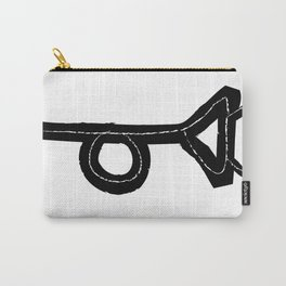 Tristero Muted Posthorn Carry-All Pouch