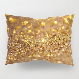 Golden glitter #society6 Pillow Sham