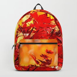 RED AND ORANGE AUTUMN Backpack