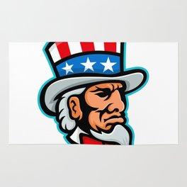 Uncle Sam Mascot Rug