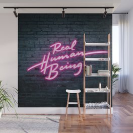 Real Human Being Wall Mural