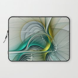 Fractal Evolution, Abstract Art Graphic Laptop Sleeve