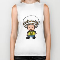 law Biker Tanks featuring Toads Law by Dama Chan