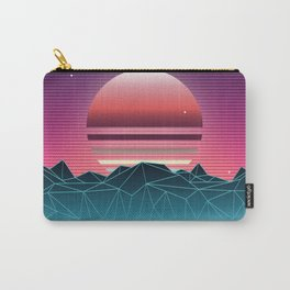 Sunset Vaporwave Aesthetic Carry-All Pouch