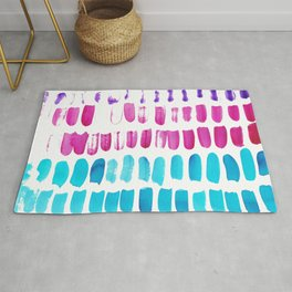 1   | 191128 | Abstract Watercolor Pattern Painting Rug