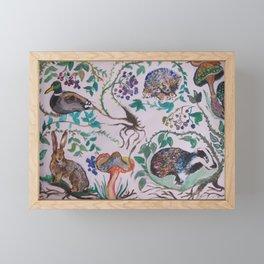 Forest Scene Framed Mini Art Print