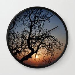 Sorrento Evening Sunset Wall Clock