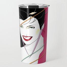 Pop Culture Design Travel Mug