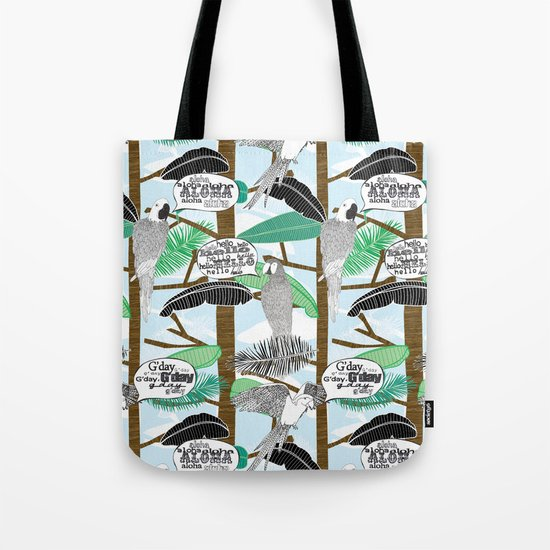 G'day Tote Bag