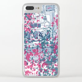 Abstract pattern 25 Clear iPhone Case