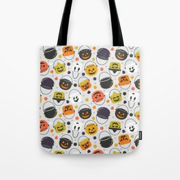 Halloween Candy Buckets Tote Bag
