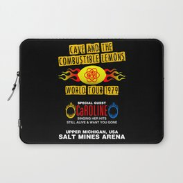 Cave & The Combustible Lemons Laptop Sleeve