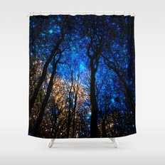 the night i met you Shower Curtain