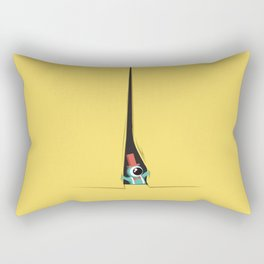 Peek show! Rectangular Pillow