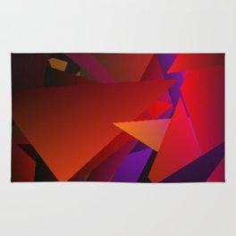 Smoke Screen Abstract 6 Rug