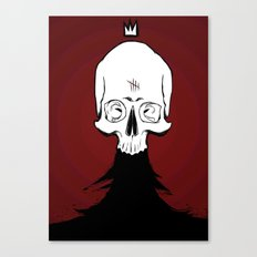 Nevar, King of the Dead Canvas Print