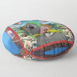 Rêve de la magnifique poupée juju Floor Pillow