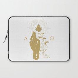 Alpha and Omega Laptop Sleeve