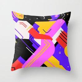 Hypnotic Tango Throw Pillow