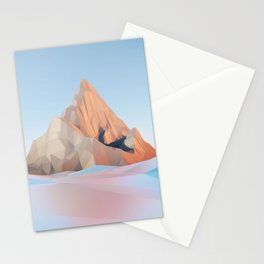 Mountain by the Water Stationery Cards