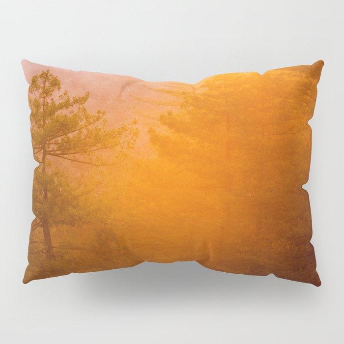 Golden Morning Glory Forest Pillow Sham