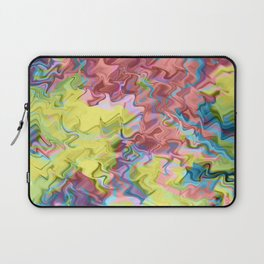 Lost in Thought; Fluid Abstract 56 Laptop Sleeve
