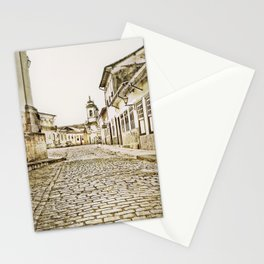 Historical city Stationery Cards