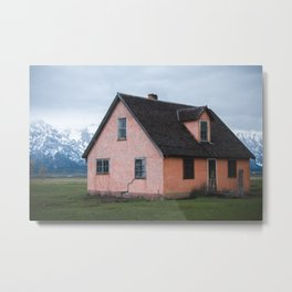 Alone in Yellowstone Metal Print