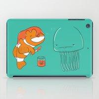 jellyfish iPad Cases featuring Jellyfish by Lili Batista
