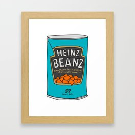 First it was Andy Warhol and the Campbell's Soup and now it's Heinz Beanz Framed Art Print