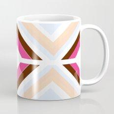 Mod stripes in raspberry Mug