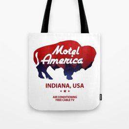 Motel America - American Gods Tote Bag