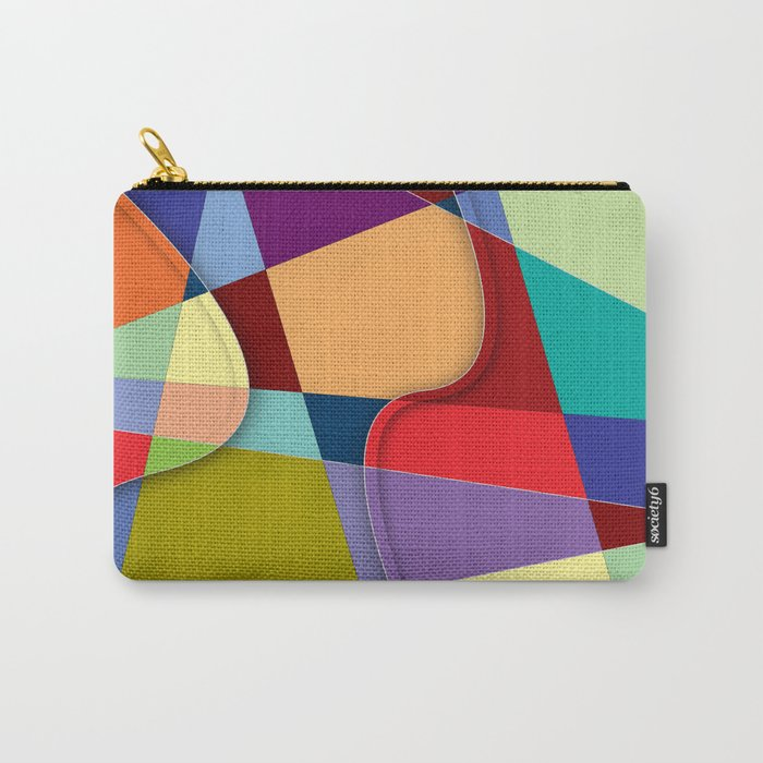 Abstract #303 Carry-All Pouch