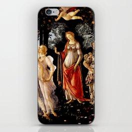 "Sandro Botticelli ""Primavera"" iPhone Skin"